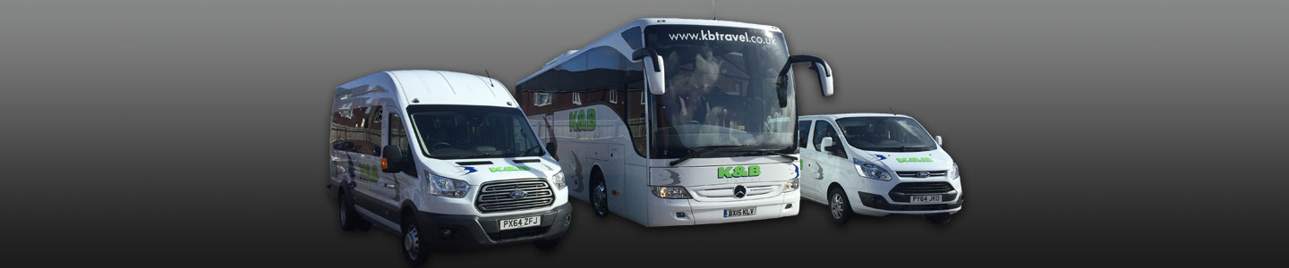 Coach hire from K & B Travel Penrith Cumbria