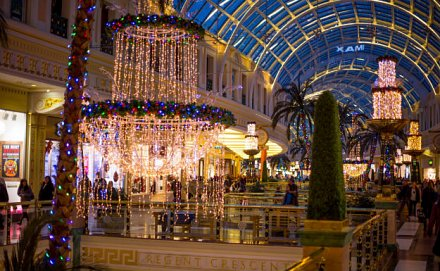 Manchester Trafford Centre at Christmas
